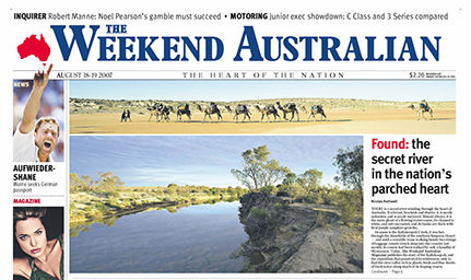ade - weekend aus18aug2007 page1 cropped